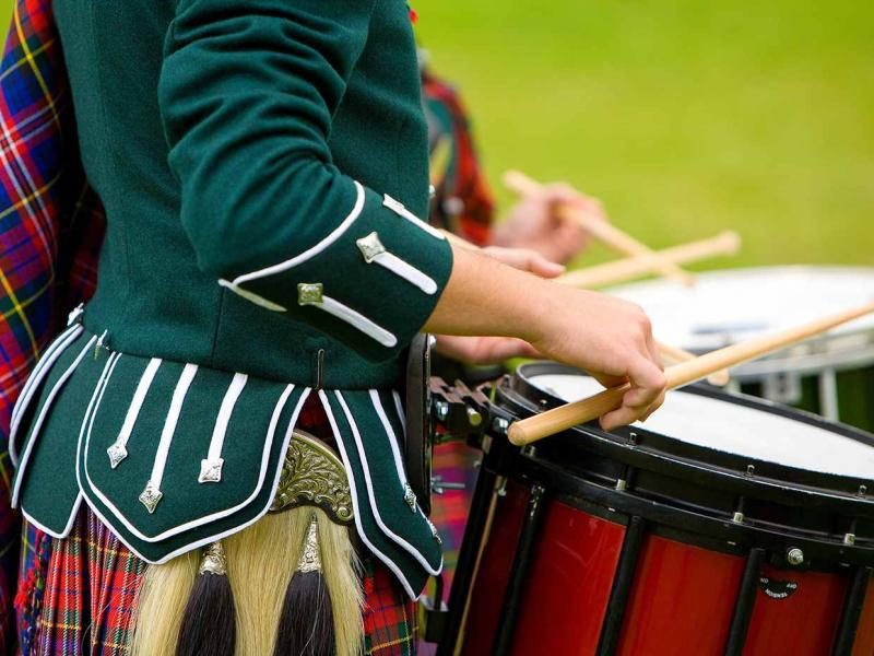 Highland Games near Dalmunzie