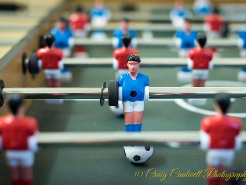 Dalmunzie House table football